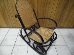Lot: A6112 - Vintage Wicker Rocking Chair
