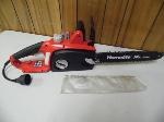 Lot: A6118 - Working Homelite 14-inch Electric Chain Saw