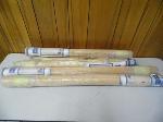 Lot: A6143 - (6) Like-New Match Stick Roll Up Window Shades