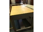 Lot: 20&21.PU - Table & Metal Cabinet