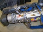 Lot: 124.BRYAN - Sony Handycam & Olympus Camedia Camera