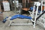 Lot: 27 - LEG CURL EXERCISE MACHINE