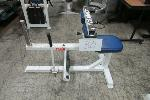 Lot: 30 - SEATED CALF EXERCISE MACHINE