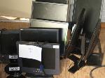 Lot: 13&14 - (9) Dell Computer Monitors & Sanyo TV