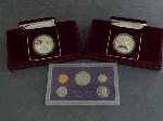 Lot: 3764 - (2) 1988-S OLYMPIC PROOF DOLLARS