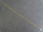 Lot: 3767 - 10K NECKLACE WITH 14K PENDANT