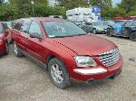Lot: B-10 - 2004 CHRYSLER PACIFICA SUV<BR><span style=color:red>Updated 10/11/17</span>