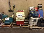 Lot: 5415 - (3 PALLETS) CUSTODIAN CLEANING EQUIPMENT