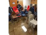 Lot: 05 - Classroom Items: Desks, Chairs, Filing Cabinets and More
