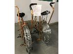 Lot: 01 - (2) Schwinn Air-Dyne ergo METRIC Exerciser Bikes
