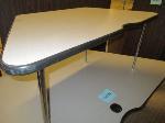 Lot: 32.PAS - (2) Trapezoid tables