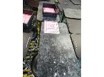 Lot: 65&66.HOU - (4) MANICURE TABLES, (4) STOOLS AND (4) PLASTIC TRAYS