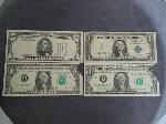 Lot: 3776 - 1981F $5 MISPRINT & (2) 1988A $1 MISPRINT BILLS