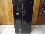 Lot: A6216 - Working LG Gloss Black Refrigerator