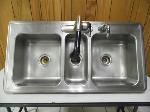 Lot: A6231 - Stainless Steel Sink and Faucet