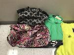 Lot: 11 - Purse, Bag, Clothes