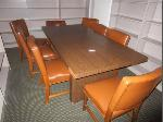 Lot: A3 - Table & (8) Chairs