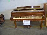 Lot: 405 - KIMBALL BABY GRAND PIANO
