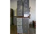 Lot: 406 - (6) ASSORTED FILE CABINETS