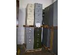 Lot: 411 - (6) ASSORTED FILE CABINETS
