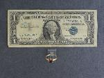 Lot: 3861 - 14K RING & 1957 $1 SILVER CERTIFICATE
