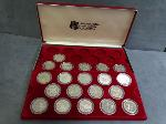 Lot: 3883 - 1984 INTERNATIONAL GAMES PROOF COINS