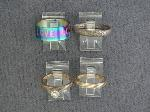 Lot: 3916 - 10K BRIDAL SET & SILVER RING