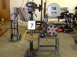 Lot: 07 - Delta Band Saw / Rockwell Drill Press
