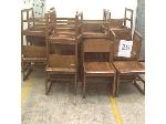 Lot: 26 - (20) Hardwood chairs