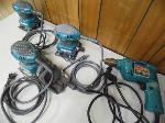 Lot: A6299 - Working Makita Electric Drill & 3 Sanders
