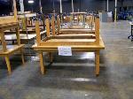 Lot: 547 - (6) Assorted Wood Classroom Tables