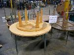Lot: 558 - (12) Assorted Round Tables