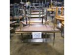 Lot: 559 - (10) Assorted Trapezoid Tables