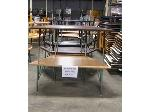 Lot: 560 - (10) Assorted Trapezoid Tables