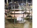 Lot: 561 - (8) Assorted Trapezoid Tables