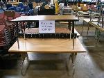 Lot: 567&568 - (10) Assorted Classroom Tables