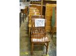 Lot: 574 - (8) Assorted Wood Chairs