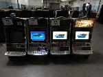 Lot: 71 - (4) Gaming Machines<BR><span style=color:red>THIS IS A RESTRICTED AUCTION</span>
