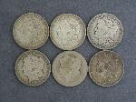 Lot: 3923 - (6) 1900-1921 MORGAN DOLLARS