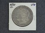 Lot: 3931 - 1890-CC MORGAN DOLLAR