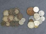 Lot: 3952 - FOREIGN COINS & 1928 MERCURY DIME