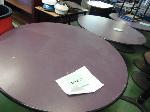 Lot: 70.UV - (13) VIRCO ROUND TABLES