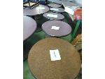 Lot: 71.UV - (5) SMALL ROUND TABLES
