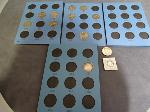 Lot: 4009 - (2) WALKING LIBERTY HALF BLUE BOOKS W/10 COINS