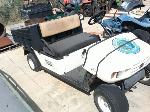 Lot: 3 - EZGO MPT Golf Cart w/ Dump Bed