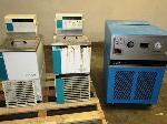 Lot: 302.CAMP HUBBARD - (2EA) WATER BATHS & REFRIGERATED RECIRCULATOR