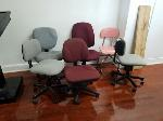 Lot: 14 - (10) Rolling Chairs<BR><span style=color:red>Updated Closing Date</span>