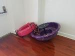 Lot: 22 - Tire and Tub Swing<BR><span style=color:red>Updated Closing Date</span>