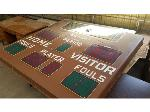Lot: 45 - Vintage Scoreboard <BR><span style=color:red>Updated Closing Date</span>