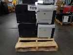 Lot: 109 - (6) HP Printers & (11) Printer Trays